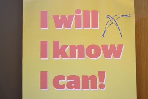 I will-I know-I can